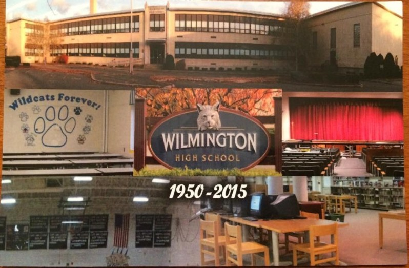 The WHS PAC is selling Wilmington High commemorative magnets for $3.