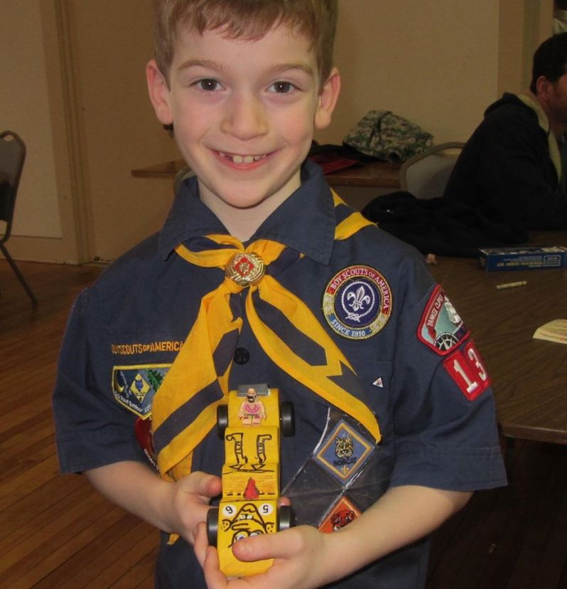 1 of the Runners-Up in the Pinewood Derby
