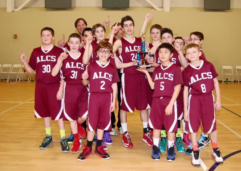 Abundant Life's Championship Boys Basketball Team