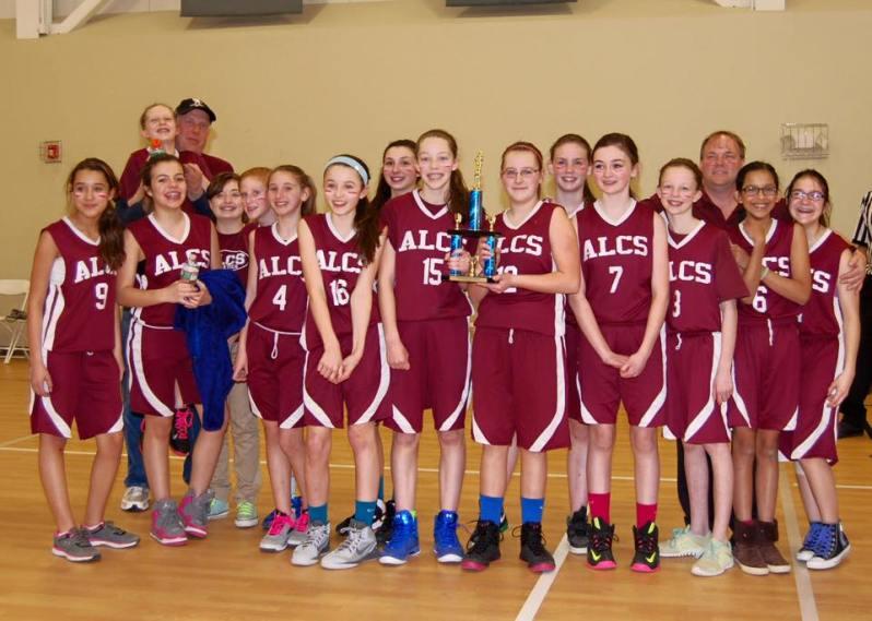 Abundant Life's Championship Girls Basketball Team