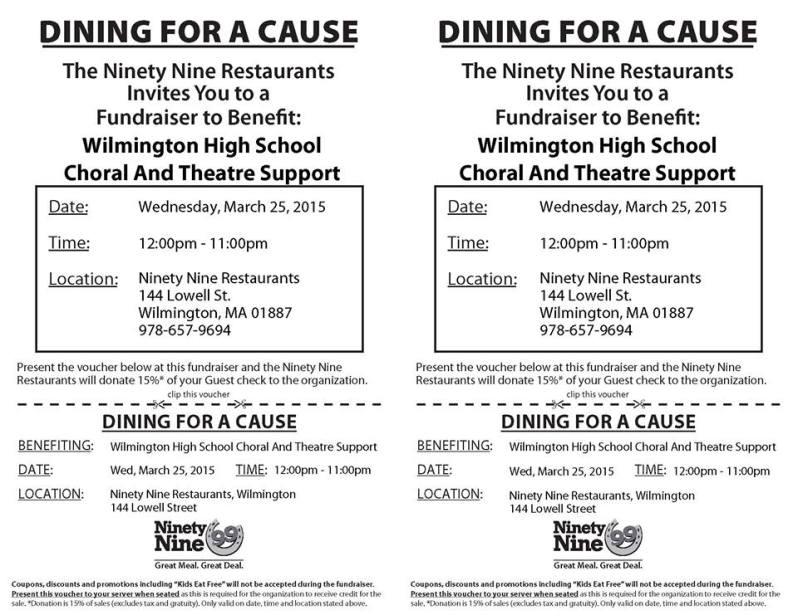 Don't forget to bring this flyer!