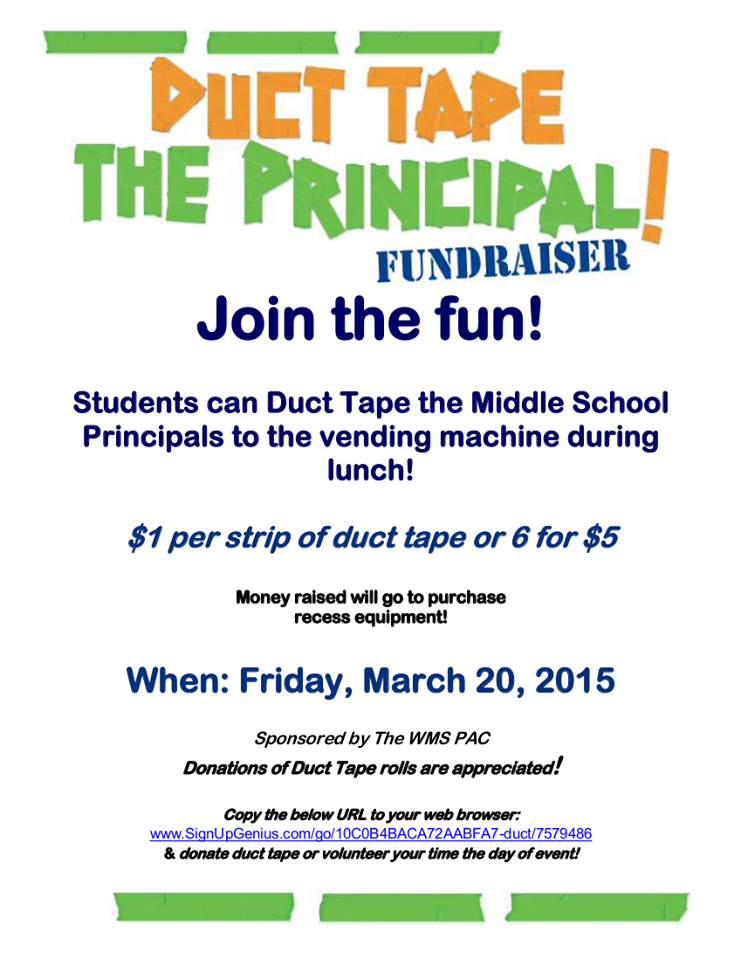 Duct Tape The Principal Flier