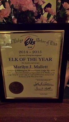Elk of the Year Award