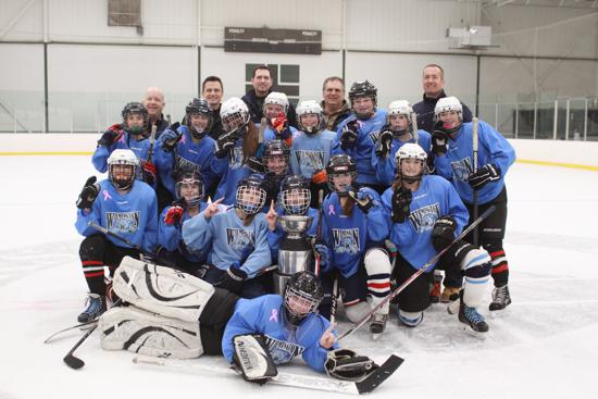 Wilmington Middle School Girls Hockey Team Are The Champs!