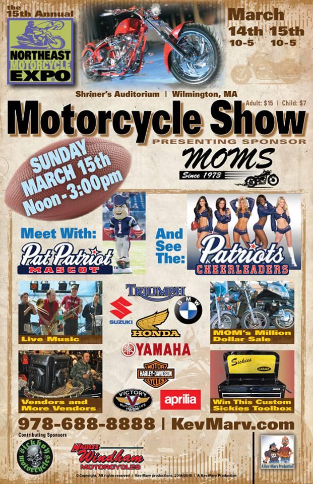 Northeast Motorcycle Expo Flyer