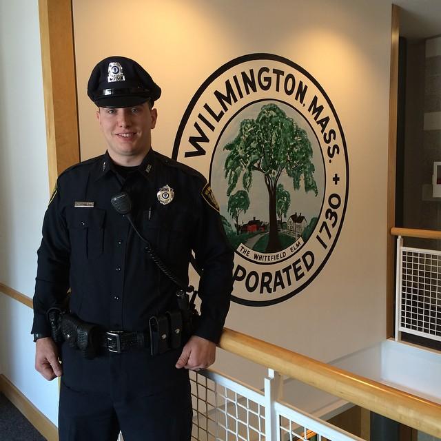 Wilmington's newest Police Officer Scott Dunnett
