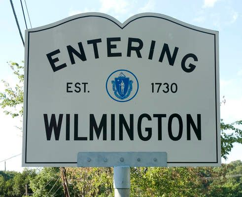 Wilmington Town Sign