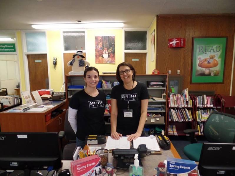 Children's Librarians Sonia and Barbara