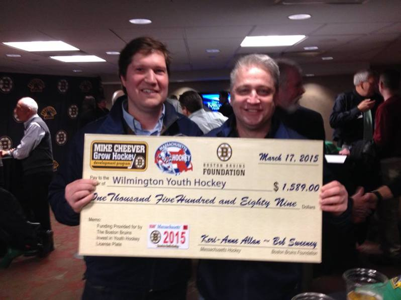 WYH President Eric Packer & Vice President Marc Gallucci at the award recipient event on March 17 at the TD Garden.