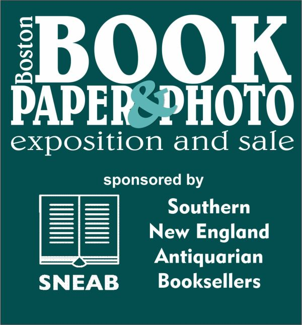 Boston Book, Paper & Photo Exposition & Sale Flyer
