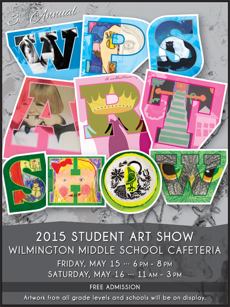 WPS Art Show Flyer