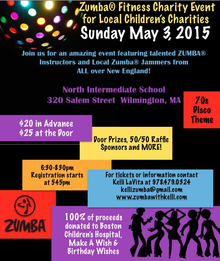 Zumba Fitness Charity Event For Local Childrens Charities