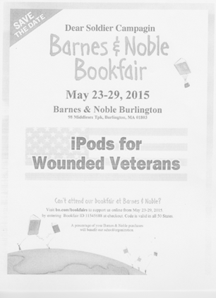 Barnes & Noble Bookfair Flyer
