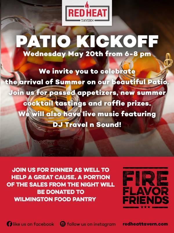Red Heat Tavern Patio Kickoff