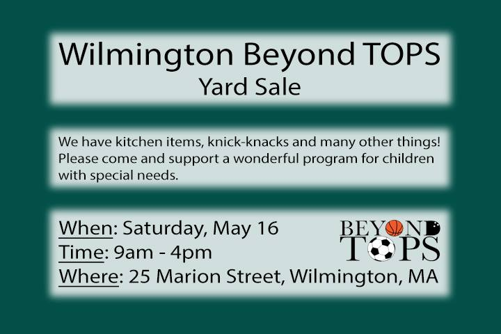 Wilmington Beyond TOPS Flyer (from WCTV)