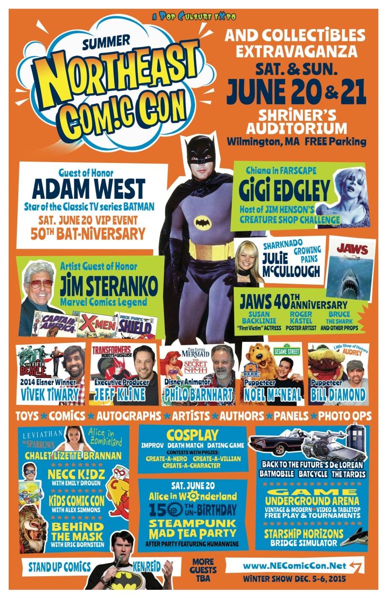 Northeast Comic Con Flyer