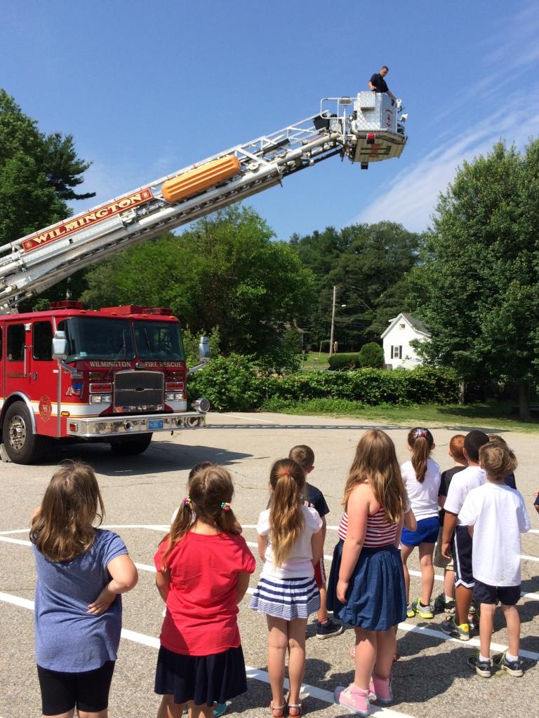 fire truck visit 7