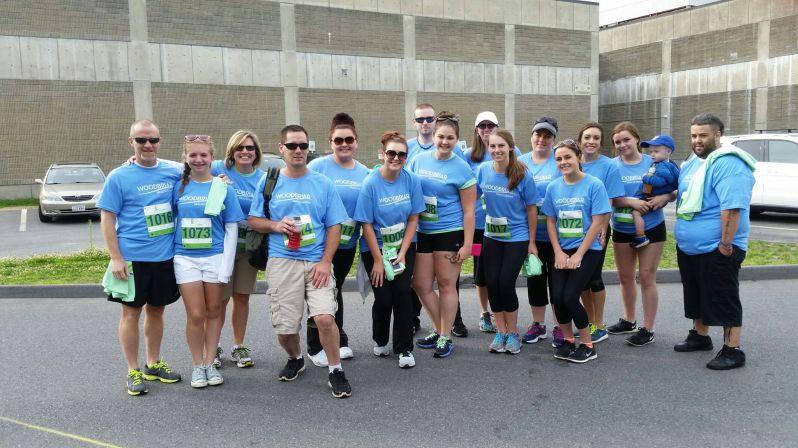Woodbriar Staff Walks Cancer 5K