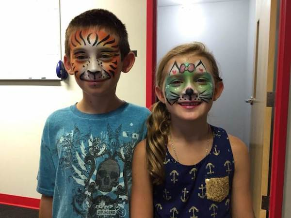 Face painting (from WCTV.org)