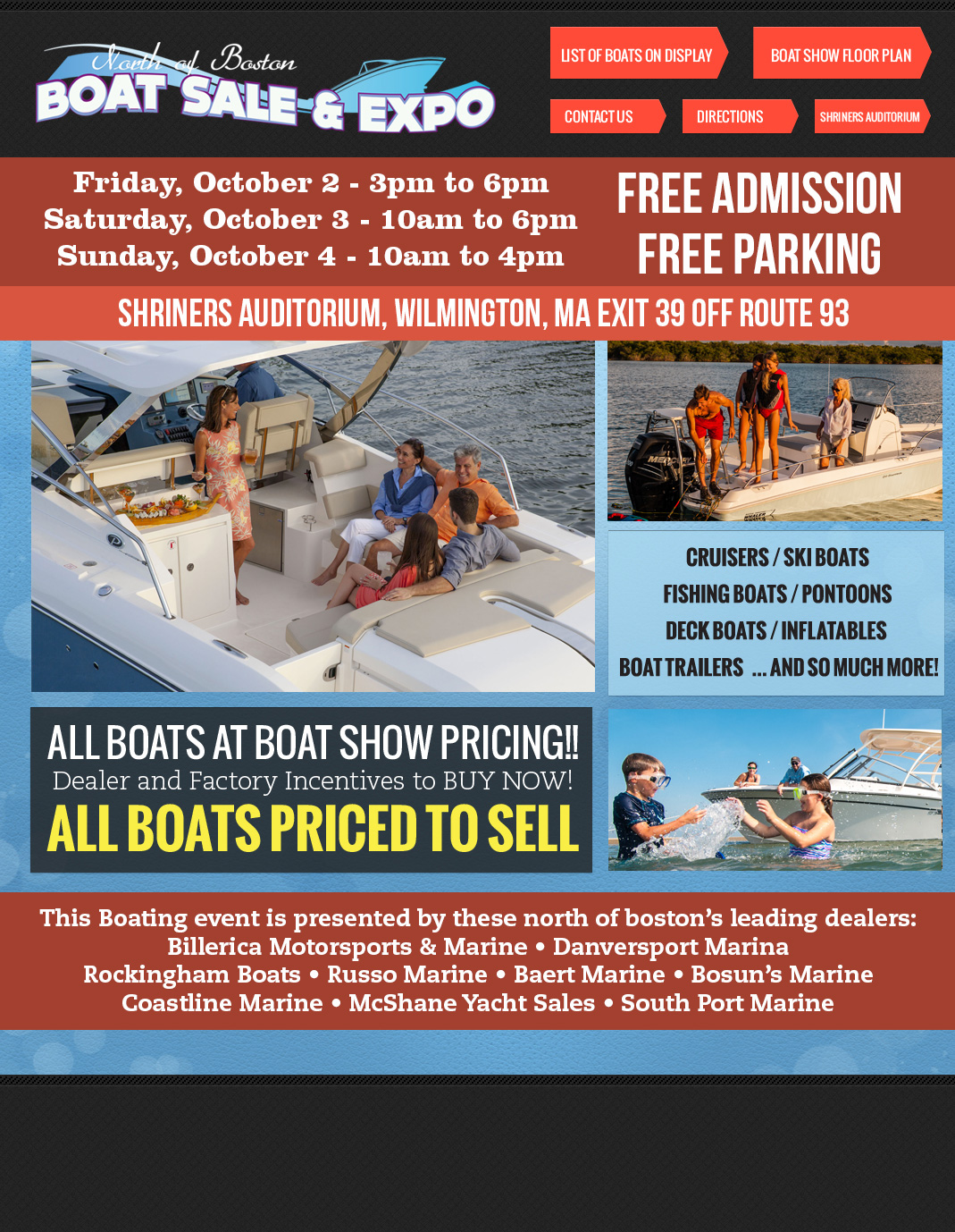 North of Boston Boat Sale & Expo Coming To Wilmington