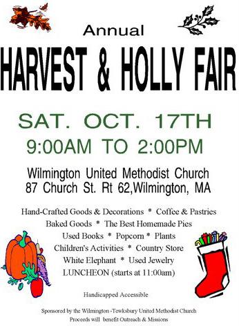 Harvest & Holly Fair