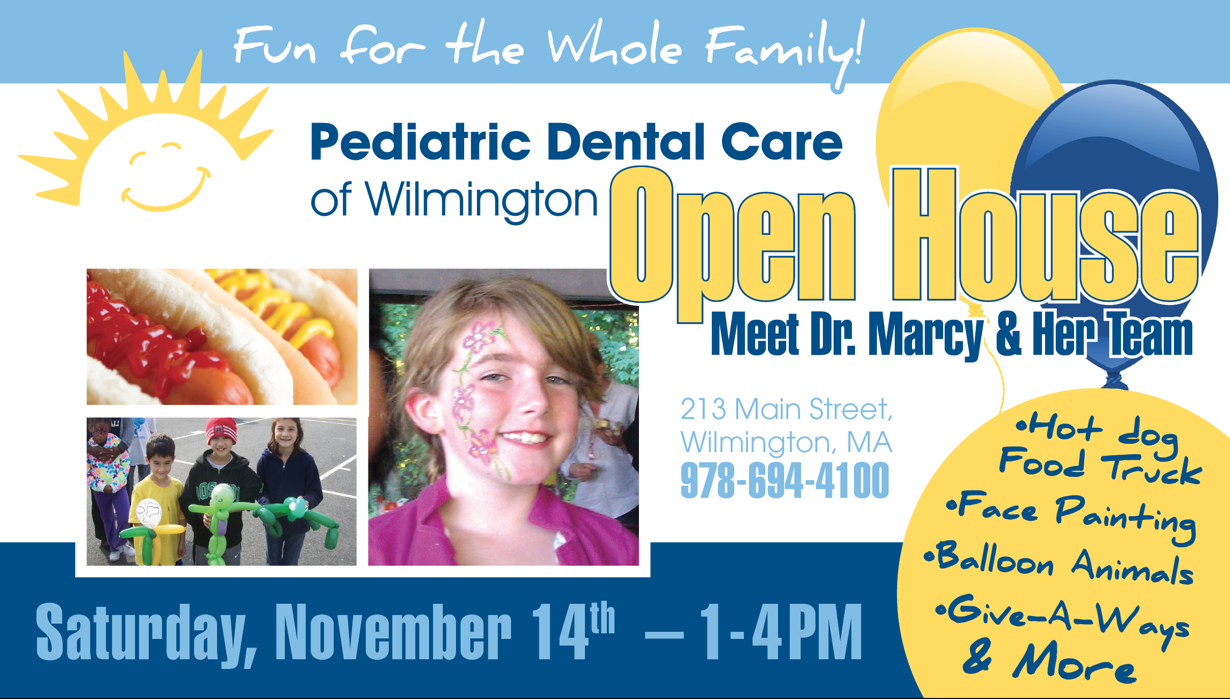 (NOTE: The Above Flyer Was Provided By Pediatric Dental Care Of Wilmington.)
