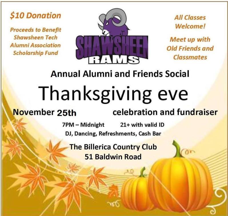 Shawsheen Tech Annual Alumni & Friends Social