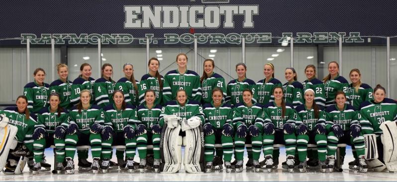 Endicott Women's Hockey Team
