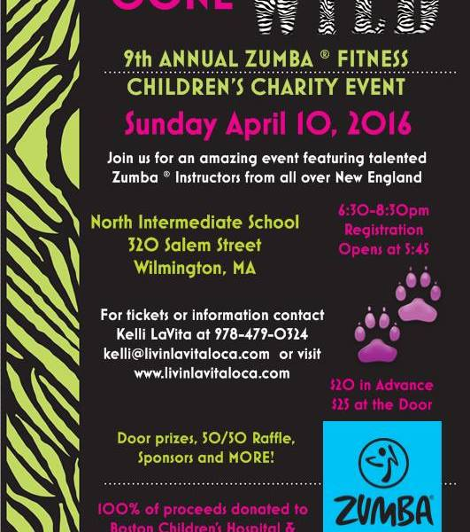 WILMINGTON GIVES 9th Annual Zumba Childrens Charity Event Announced