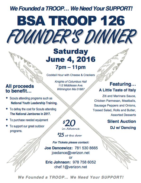 Founder's Dinner