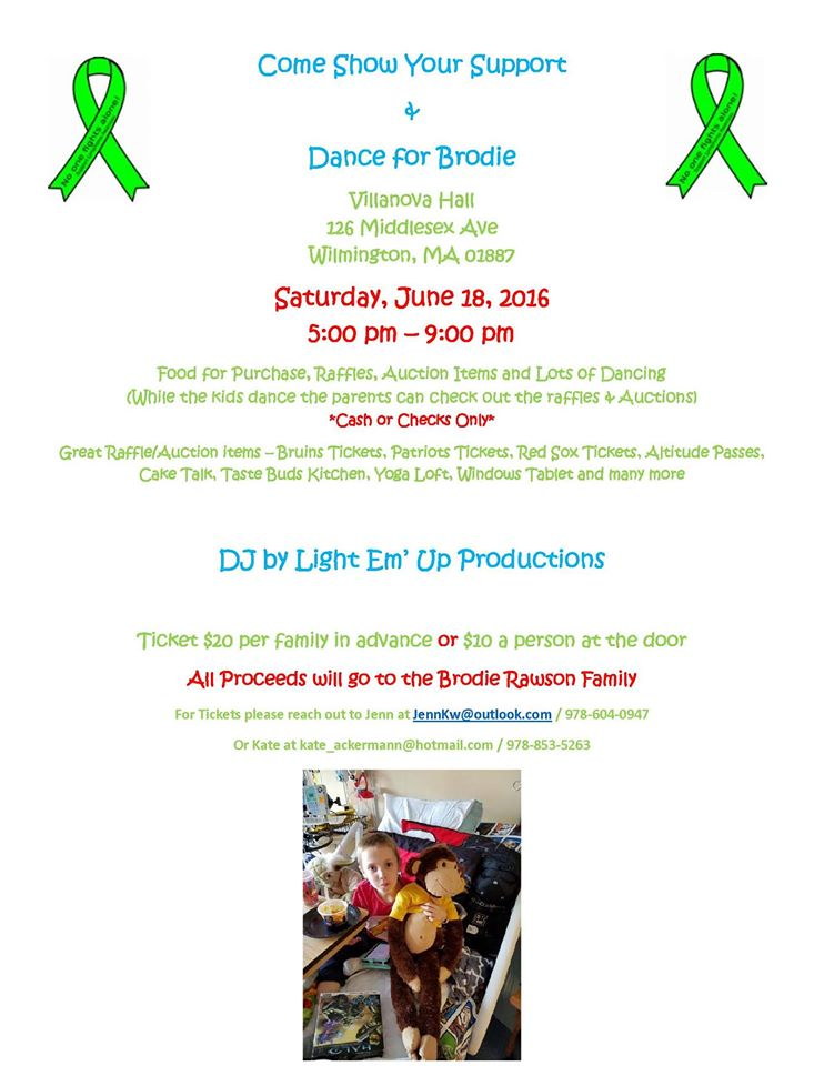 WILMINGTON GIVES Fundraiser Dance For 8 Year Old With Cancer Set