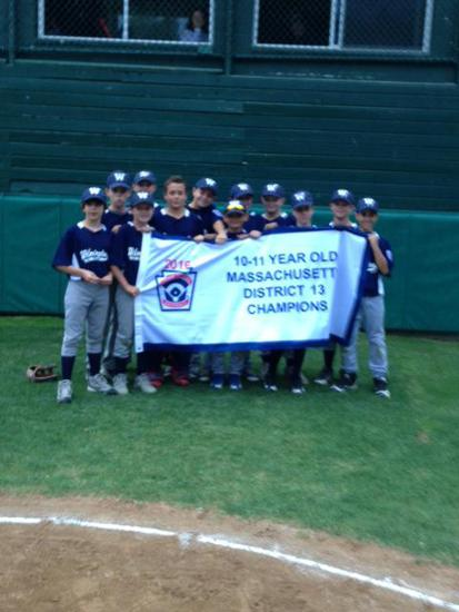 2016 WLL District 11 Year-Olds