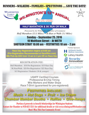 Wilmington Road Race Flyer