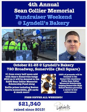lyndell s bakery to hold annual sean collier memorial fundraiser