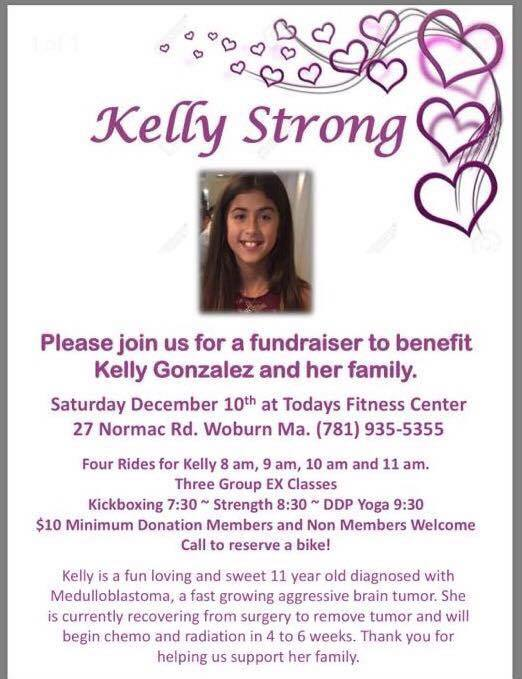 Fundraiser For Wilmington 11 Year Old Diagnosed With Brain Tumor Set For December 10 Woburn Ma