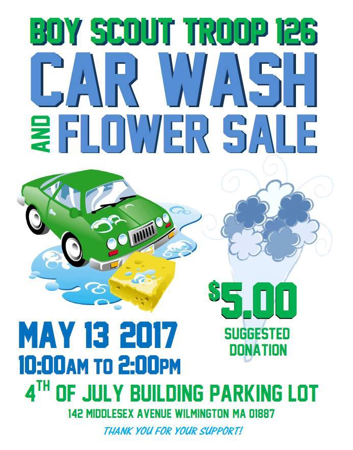 Car Wash & Flower Sale (Large)