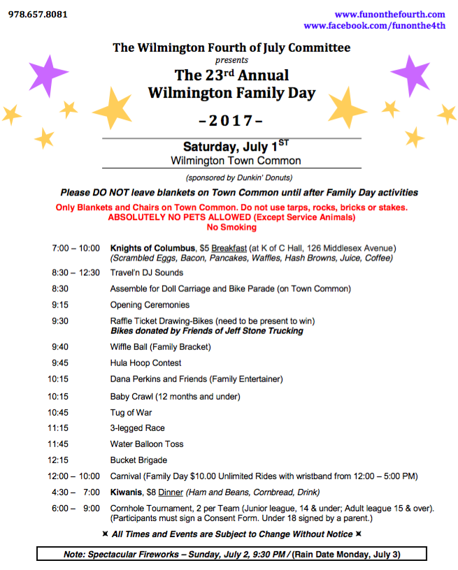 Wilmington Family Fun Day