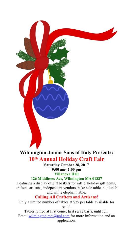 Wilmington Junior Sons of Italy Craft Fair (Large)