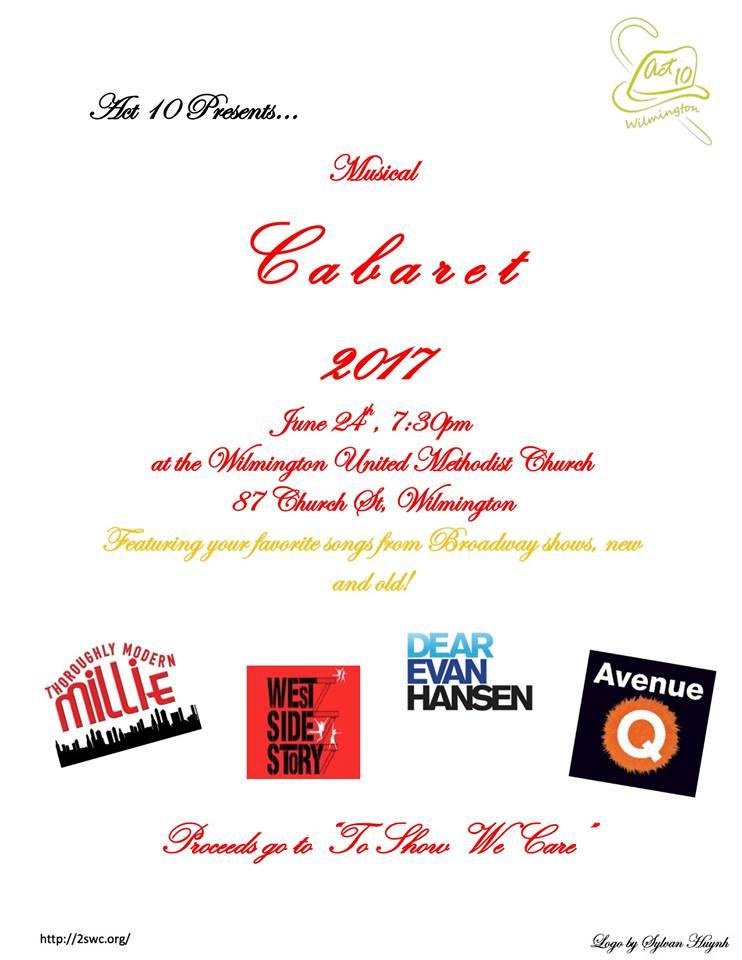 Musical Cabaret 2017