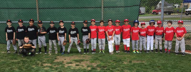 Single A -- Giants & Cardinals