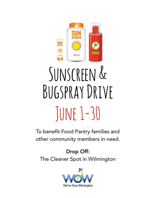Sunscreen & Bug Spray Drive