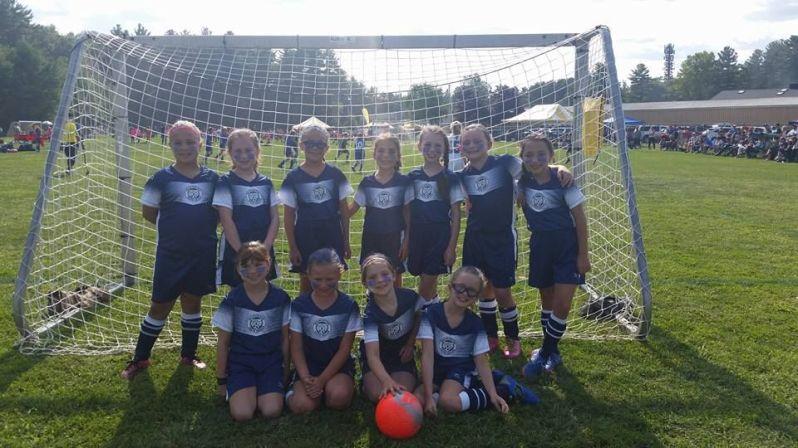 Wilmington's Girls Grade 3-1 Travel