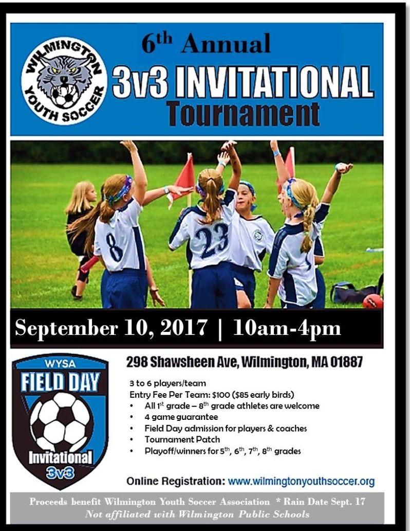 WYSA 6th Annual 3v3 Invitation Tournament Field Day