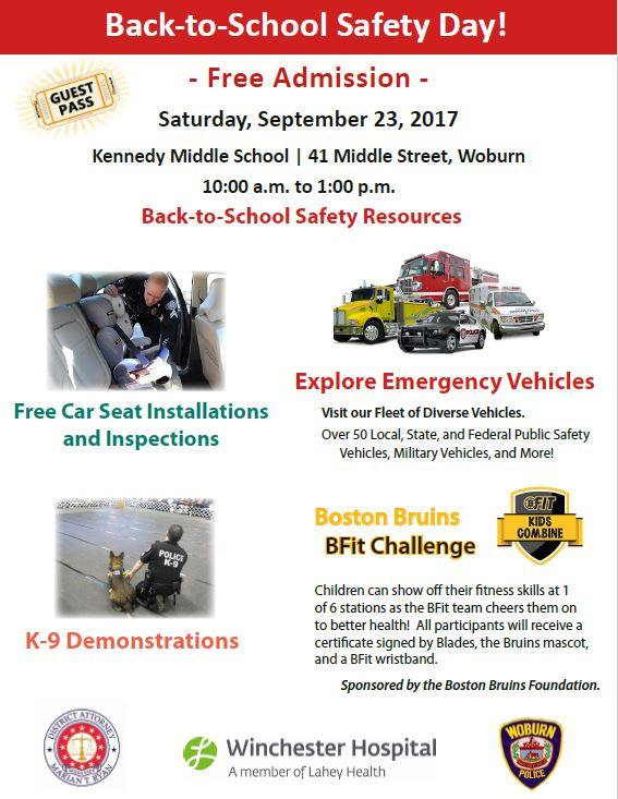 Back To School Safety Day