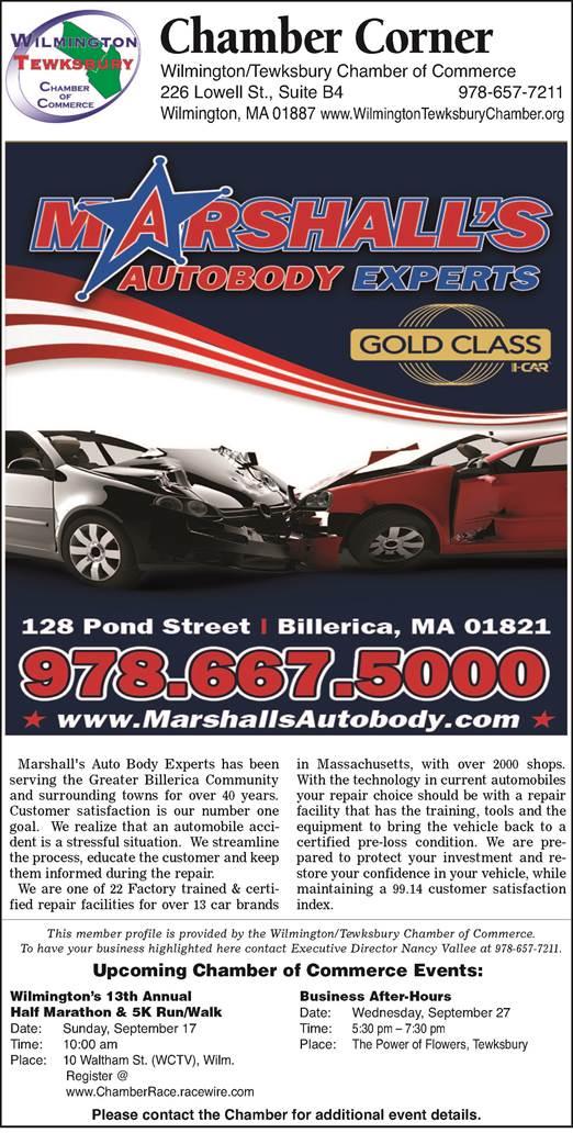 Marshalls Auto Body