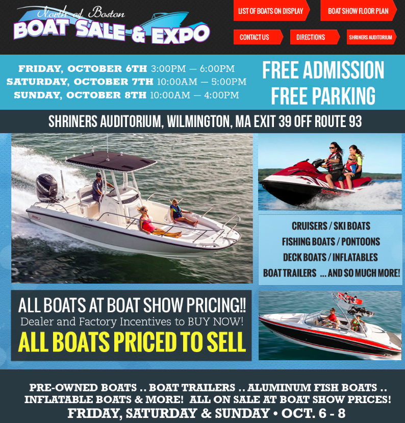 North of Boston Boat Sale & Expo