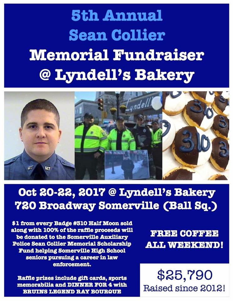 Sean Collier Memorial Fundraiser Lyndell's