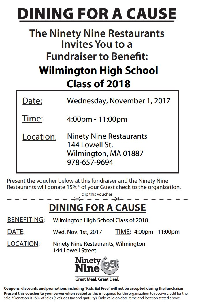 WHS 99 Fundraiser
