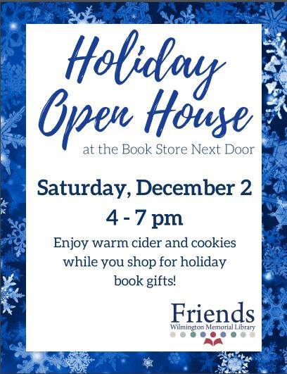 Book Store Next Door Holiday Open House