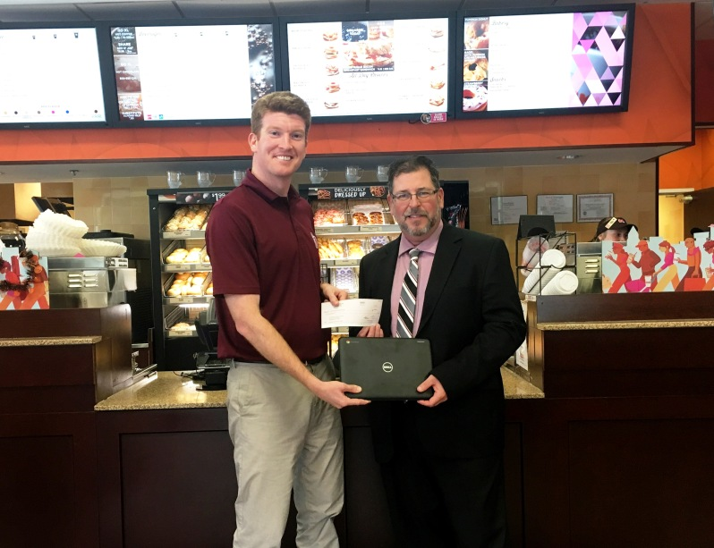 Dunkin' Donuts Check Presentation